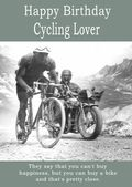 Happy Birthday Cycling Lover - 1